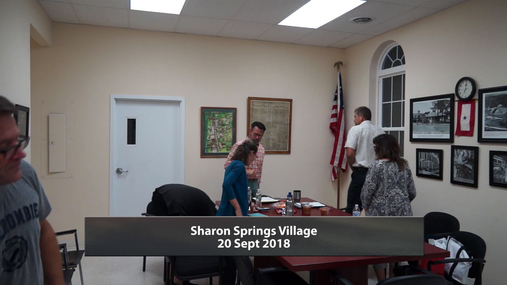 Sharon Springs Village -- 20 Sept 2018