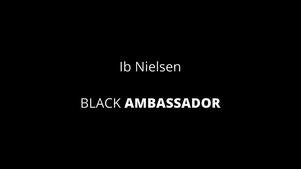 Black Ambassador Recognition