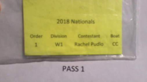 Rachel Pudlo W1 Round 1 Pass 1