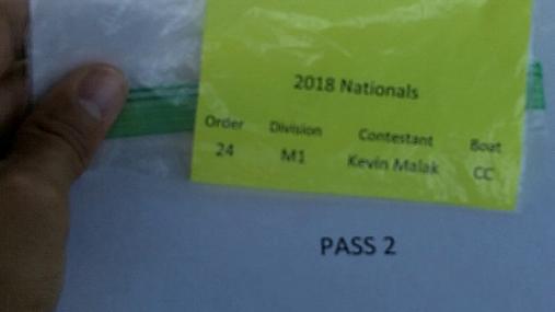 Kevin Malak M1 Round 1 Pass 2