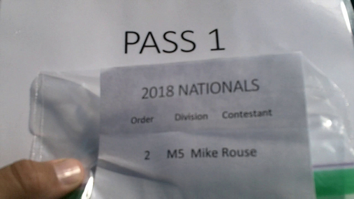 Mike Rouse M5 Round 1 Pass 1