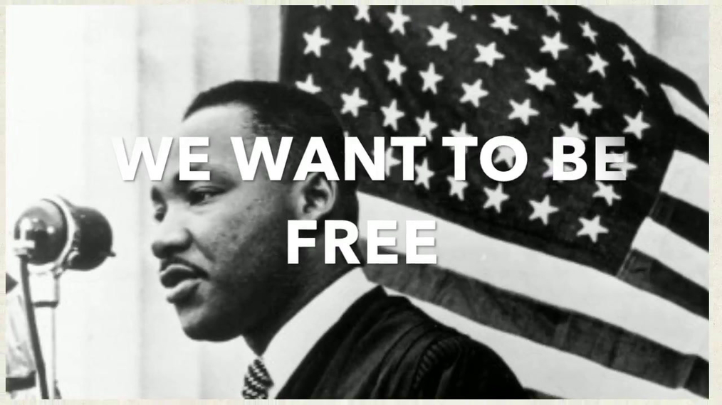 We Want To Be Free