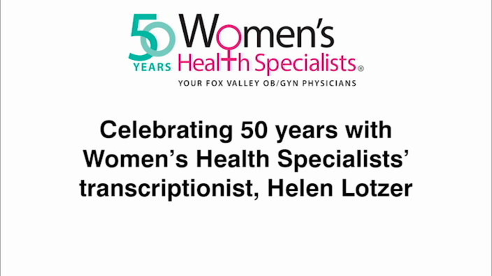Celebrating 50 Years with Women's Health Specialists