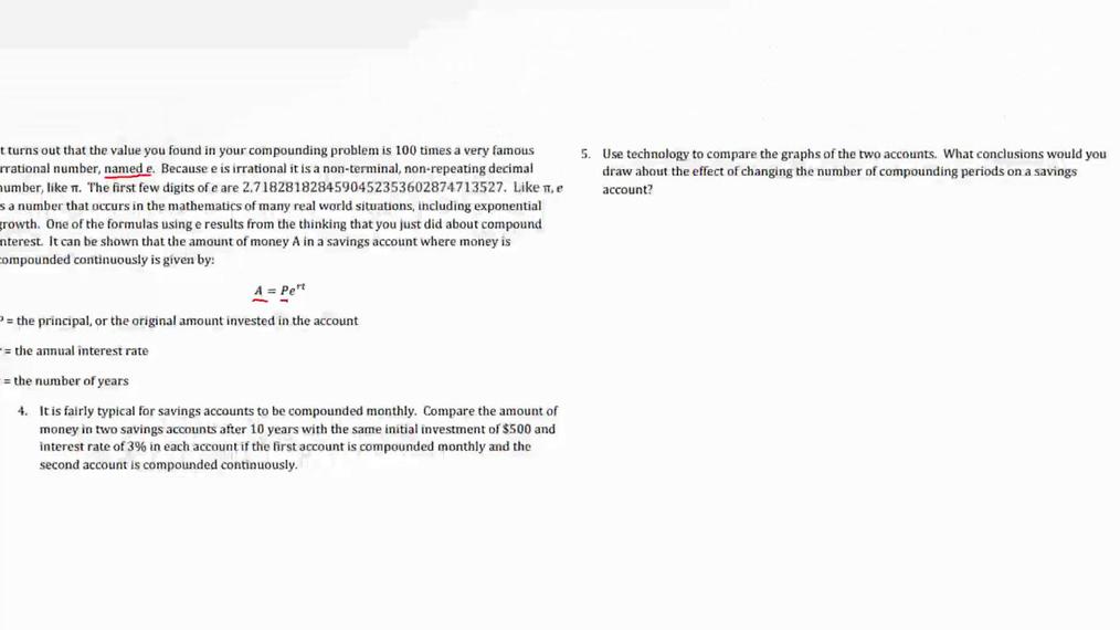 Secondary Math III 2.6 Task Compound Interest Part 1.mp4