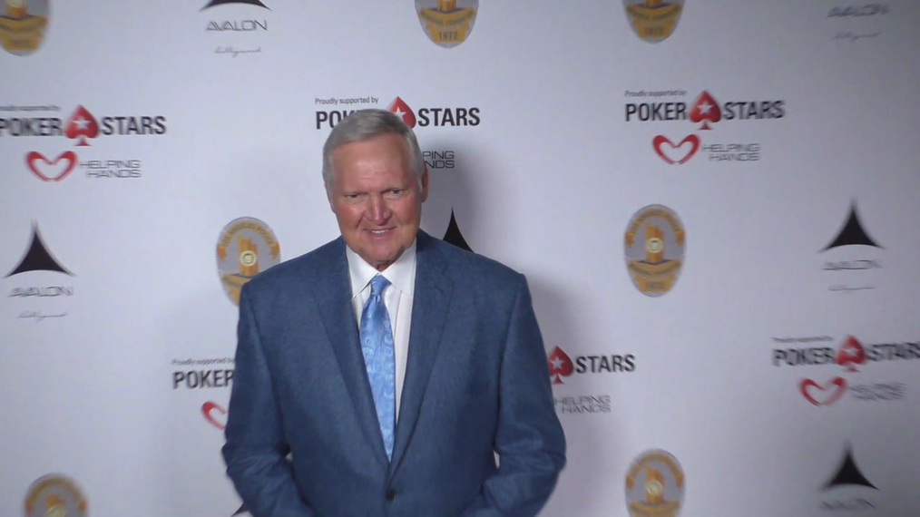 Jerry West at the Los Angeles Police Memorial Foundation Celebrity Poker Tournament at Avalon Nightclub in Hollywood.mp4