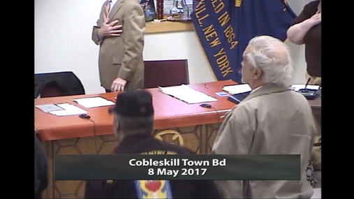 Cobleskill Town Bd -- 8 May 2017