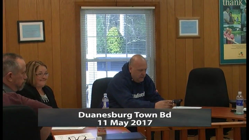 Duanesburg Town Bd -- 11 May 2017