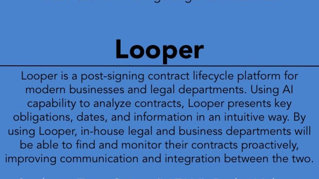 2017 LWOW O POW: Looper