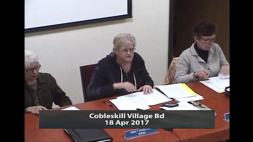 Cobleskill Village Bd__18 Apr 2017