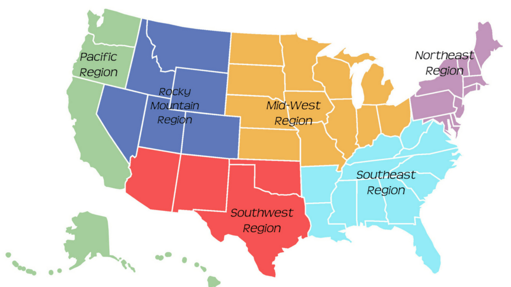 PREVIEW: Regions of the U.S. in Song (K-6)
