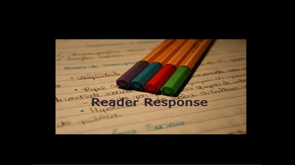 ENG-Reader Response