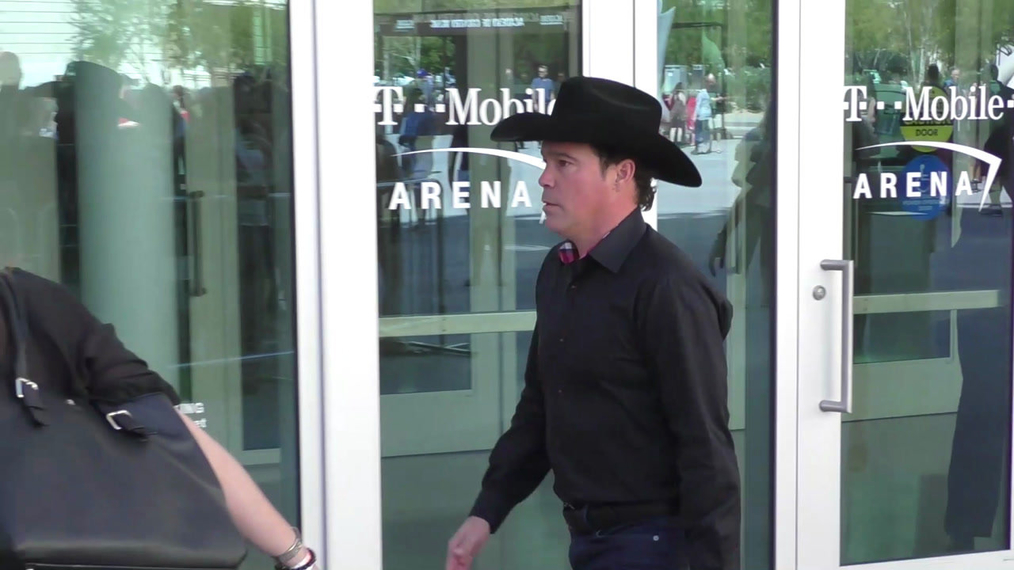 Clay Walker outside ACM Awards Radio Row at T-Mobile Arena in Las Vegas.mp4