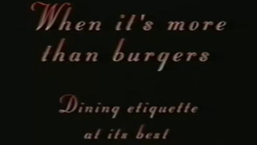 Dining Etiquette at La Caille