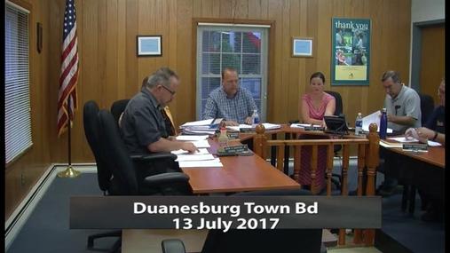 Duanesburg Town Bd__13July 2017