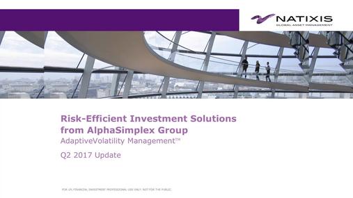 AlphaSimplex Group Q2 2017 MWP Performance Review