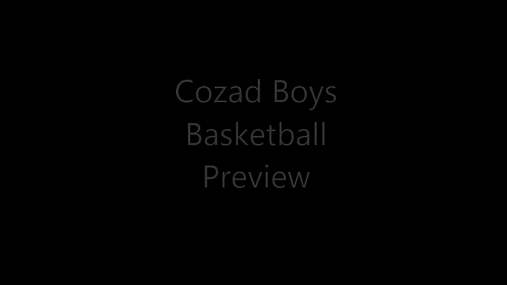 Cozad Boys Basketball Preview