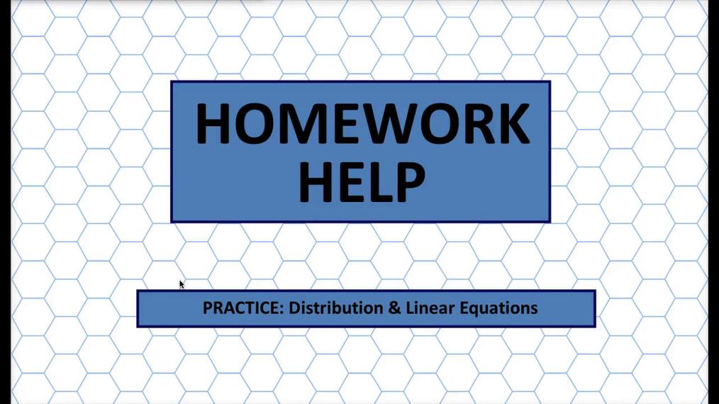Q1 HH Distribution & Linear Equations.mp4