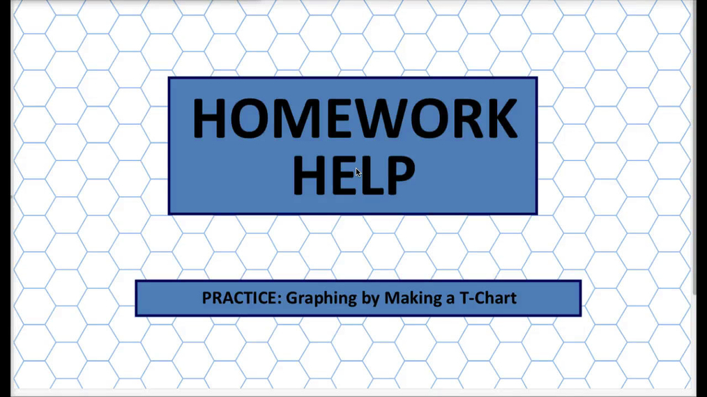 Q1 HH Graphing by Making a T-Chart.mp4