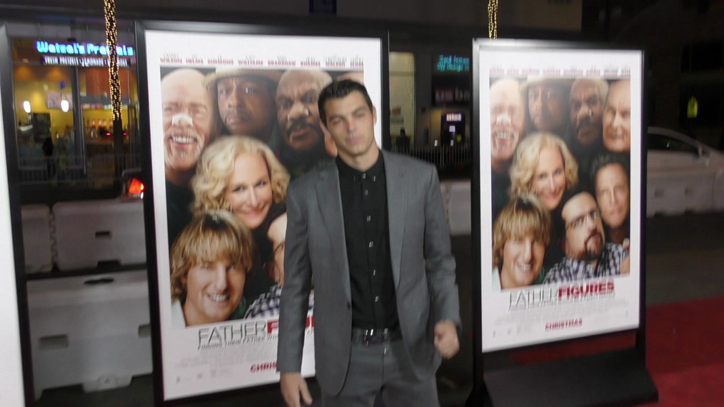 Taylor Fritz at the premiere of Father Figures at TCL Chinese Theatre in Hollywood.mp4