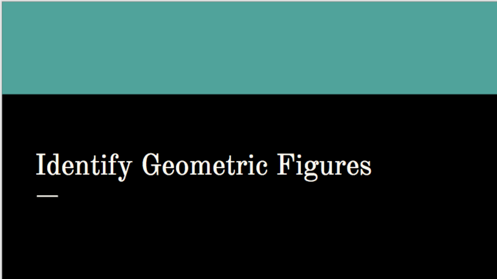 Identify Geometric Figures.mp4