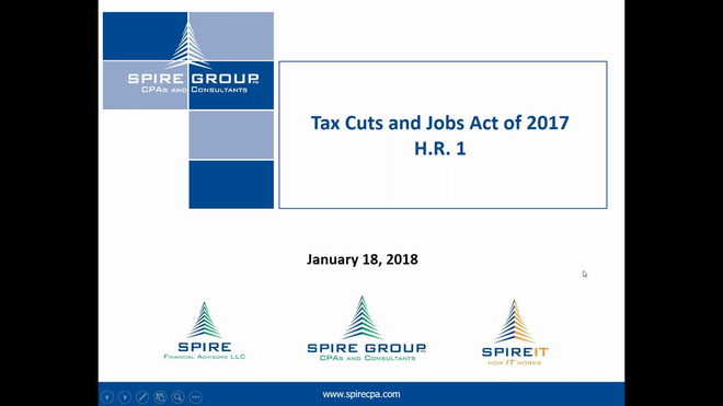 The Tax Cuts and Jobs Act: What It Means for You