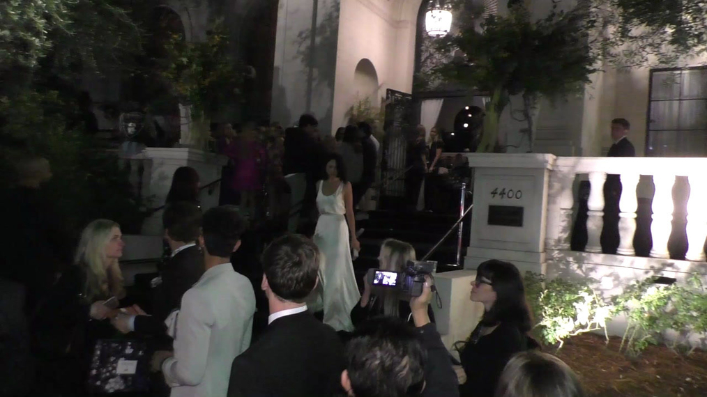Eiza Gonzalez outside the H&M x ERDEM Runway Show & Party at The Ebell Club in Los Angeles.mp4