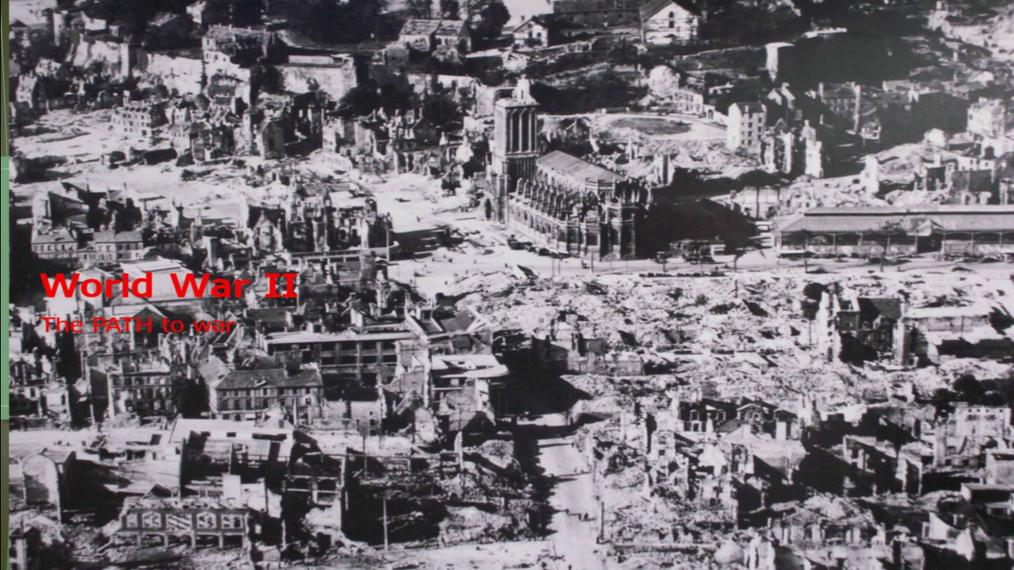 World War II the path to war