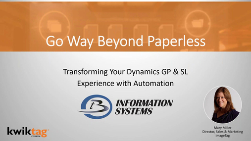 Finance Professionals Find New Value with Process Automation in Dynamics GP & SL