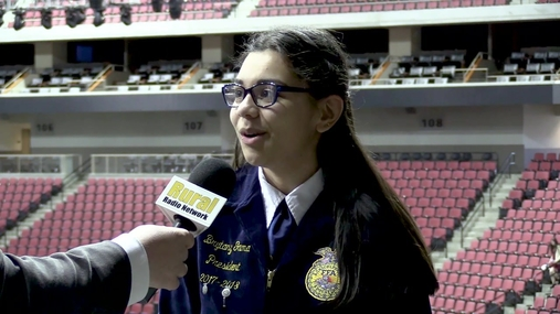 Nebraska FFA Elects 2018-2019 State Officer Team