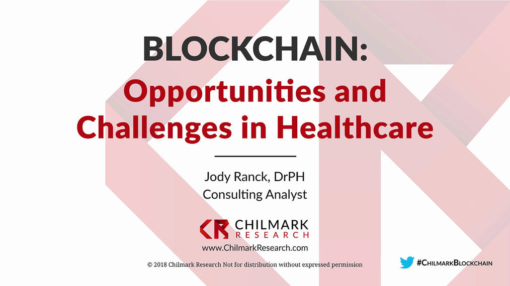 Blockchain: Opportunities and Challenges in Healthcare