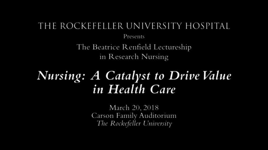 Nursing A Catalyst to Drive Value in Health Care.mp4