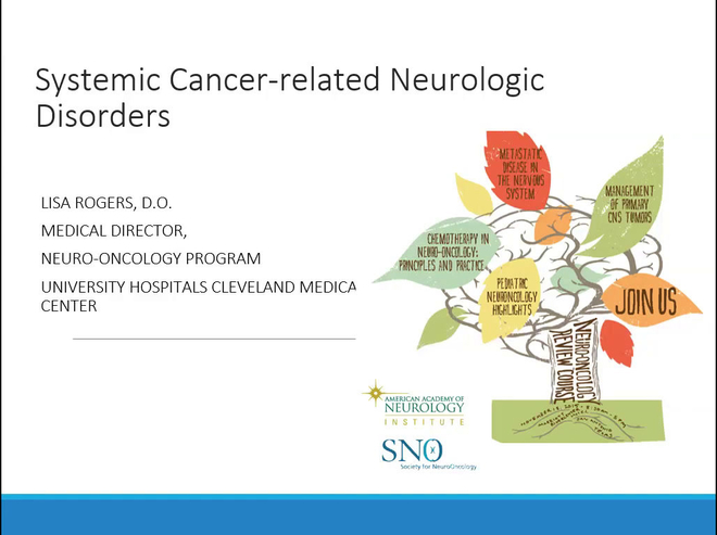 Systemic Cancer-related Neurologic Disorders