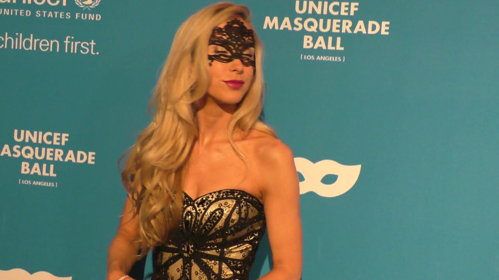 Marie Parsons at the 4th Annual UNICEF Masquerade Ball at Clifton's Cafe in Los Angeles.mp4