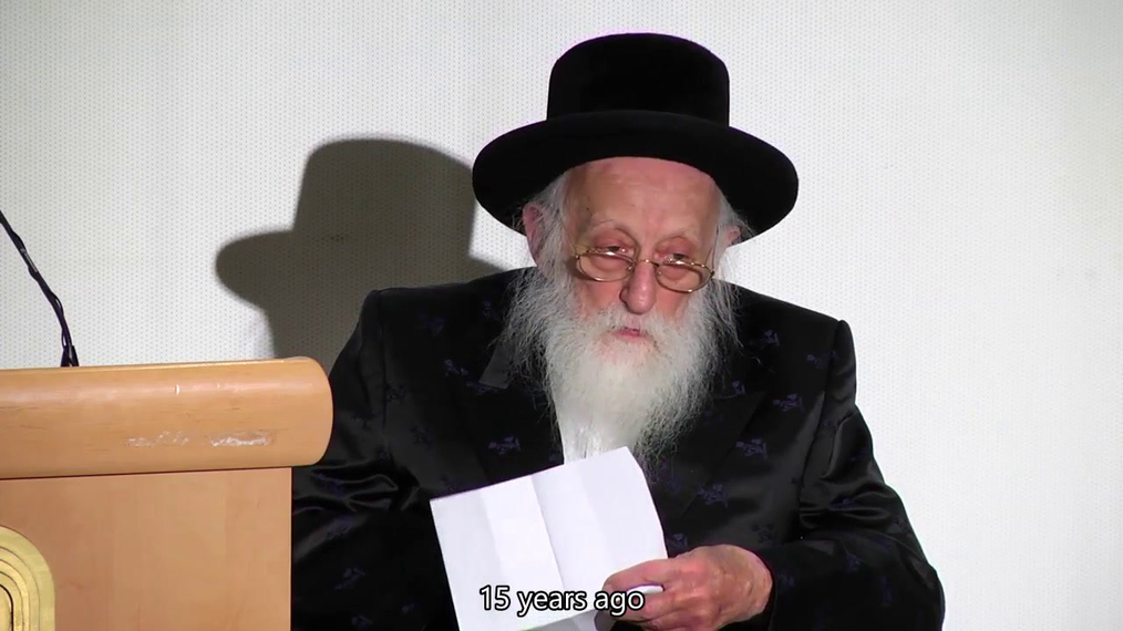 Rabbi Twerski - With Subtitles
