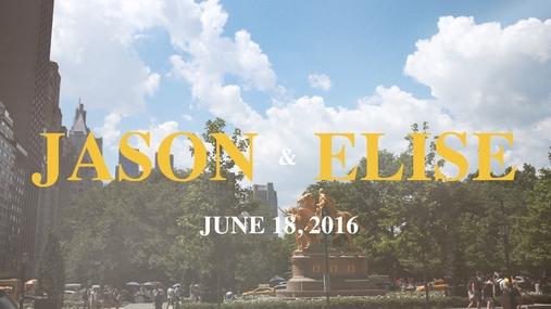 Jason and Elise