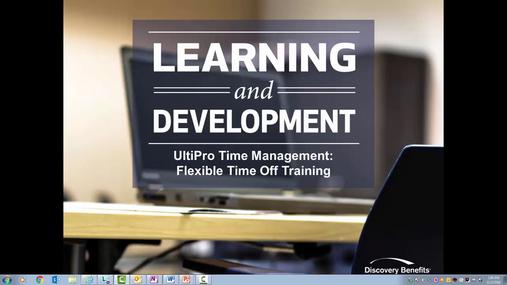 UTM - Flexible Time Off