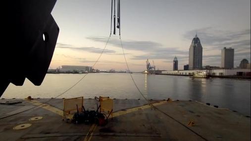 400T Barge Crane