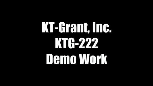 KTG-222 Demo Work