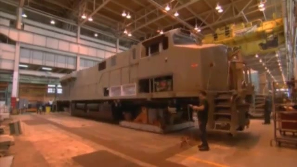 Locomotive Assembly Transporter