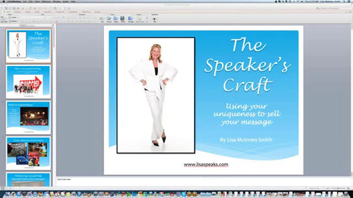 Speakers Academy Webinar -- The Speaker's Craft with Lisa McInnes Smith CSP CPAE.mp4