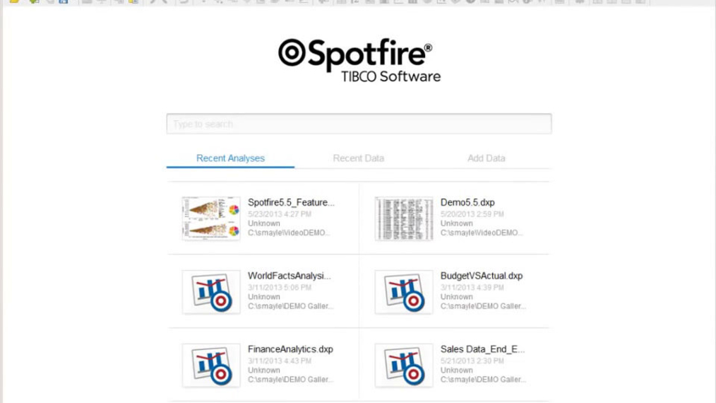 ▶ Data Exploration features in TIBCO Spotfire 5.5