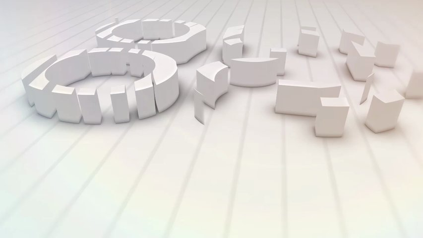 make a cool 3d logo animation