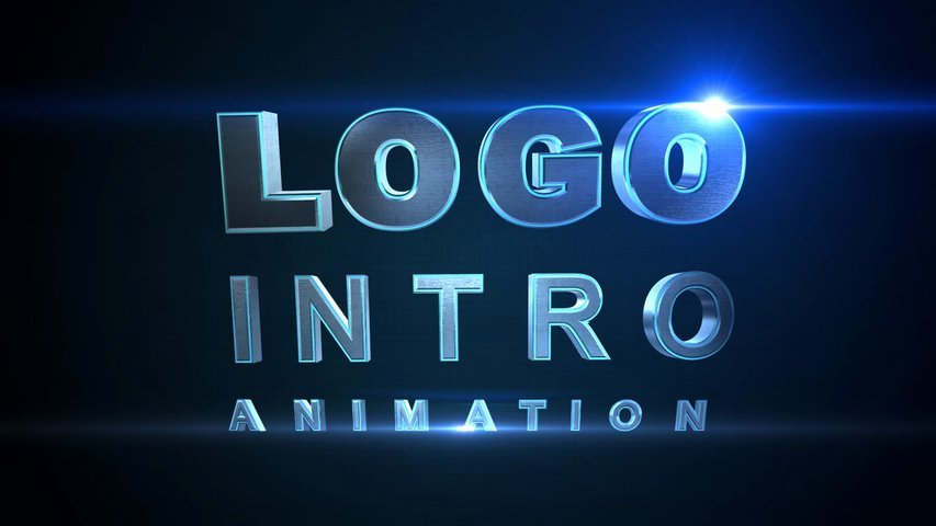 design a professional logo intro animation