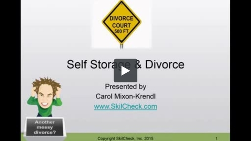Self Storage & Divorce - SkilCheck Services.wmv