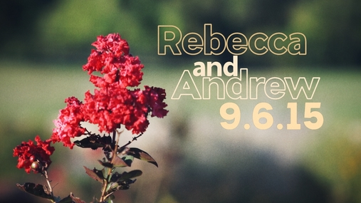 Rebecca and Andrew