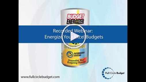 Full Circle Budget Demo