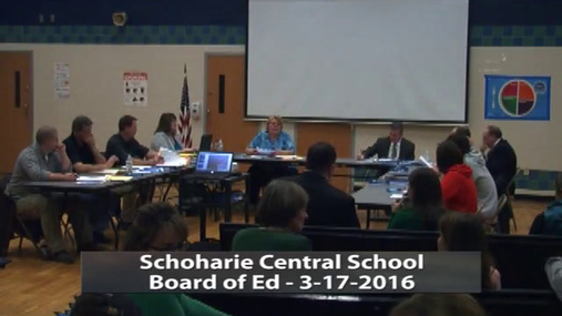 SCS Bd of Ed -- Mar 17 2016