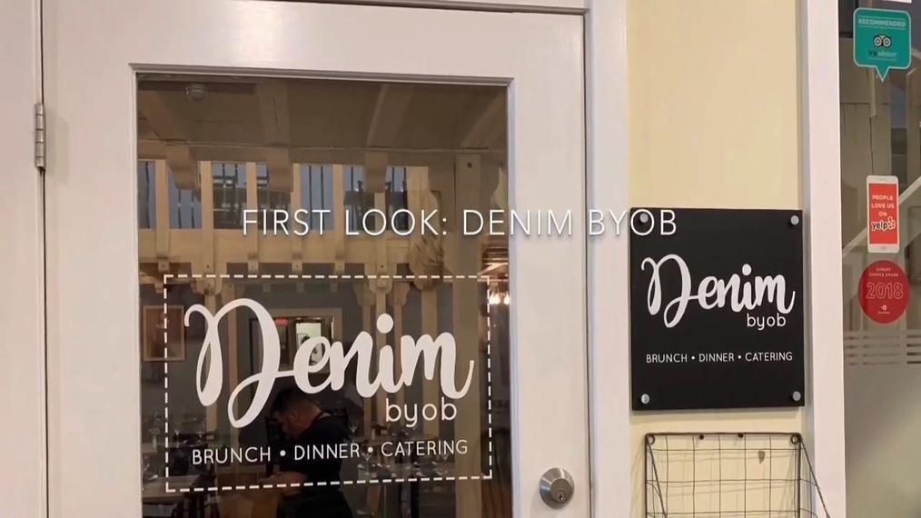 Restaurant in Haddonfield NJ, Denim Byob