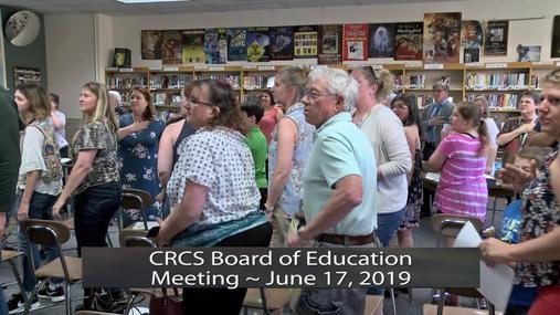 CRCS BOE -- June 17, 2019