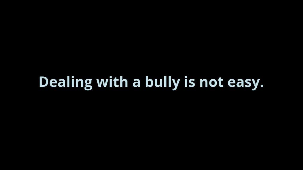 PSA - Bullying